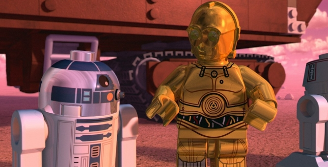 Picture from Lego Star Wars Droid Tales May Be The Droids You're Looking For