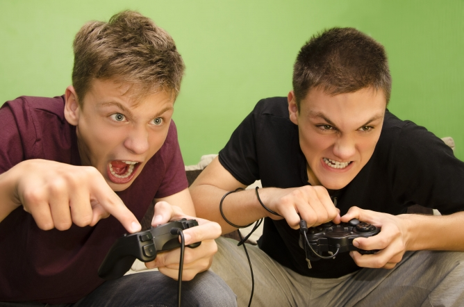 Picture from Violent Video Games Linked to Aggressive Behavior