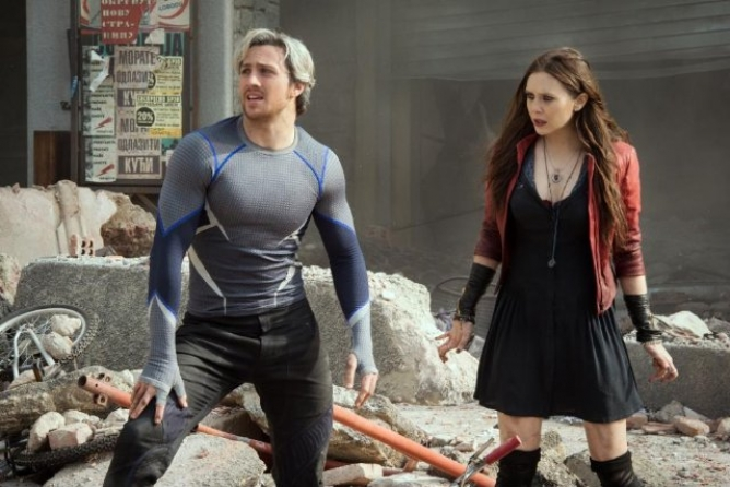 Picture from New Featurette Intros Sibling Duo in Avengers: Age of Ultron