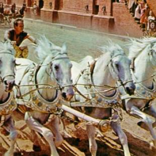 Huston to Replace Heston in New Ben-Hur Movie
