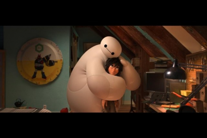 Picture from Big Hero 6 Earns Big Bucks at the Box Office