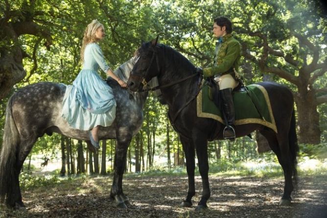 Picture from Live Action Cinderella Waltzes on Screen in March 2015