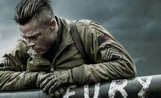 Picture from Brad Pitt Will Let His 13-Year-Old See Fury