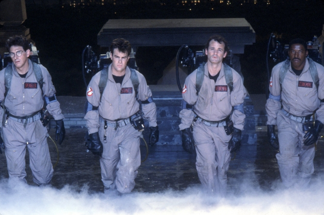 Picture from Ghostbusters I and II on Home Video