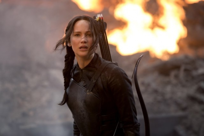 Picture from The Hunger Games: Mockingjay Part 1 Is Set to Release This Friday