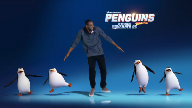 Picture from New Videos Include Penguin Shake Lesson