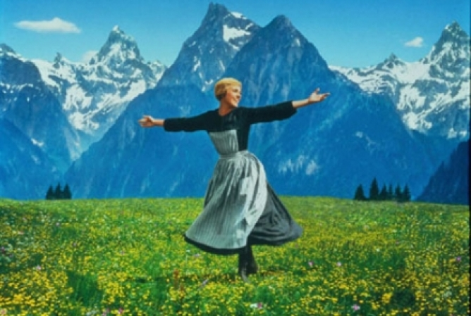 Picture from The Sound of Music Stars Celebrate Long Careers in the Movie Business