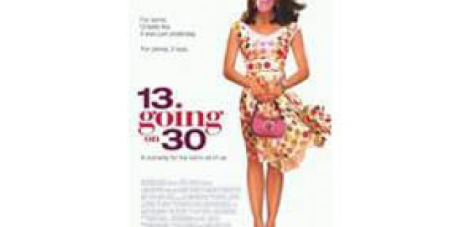 13 Going on 30 parents guide