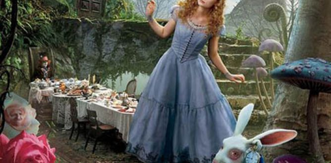 Picture from Alice In Wonderland