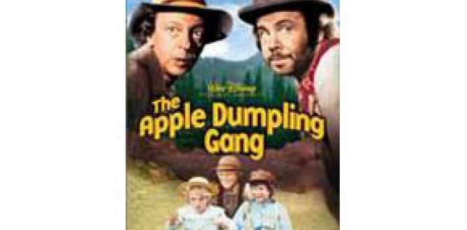 Picture from The Apple Dumpling Gang