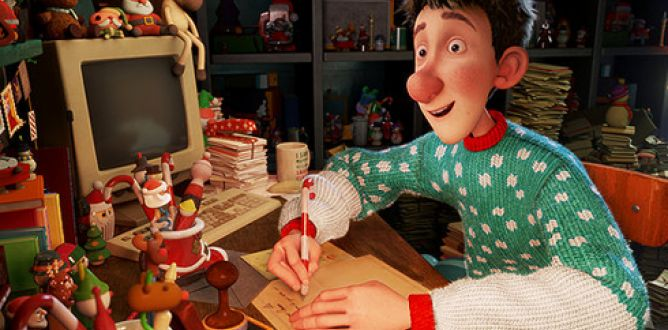 Picture from Arthur Christmas