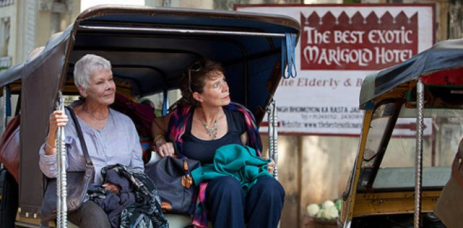 The Best Exotic Marigold Hotel parents guide