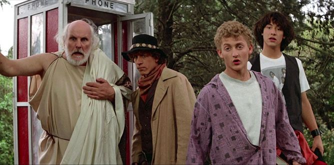 Bill & Ted's Excellent Adventure parents guide