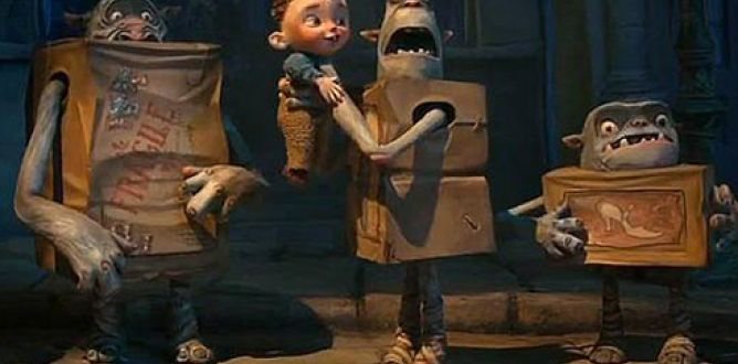 The Boxtrolls parents guide