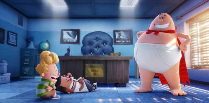 Captain Underpants: The First Epic Movie parents guide