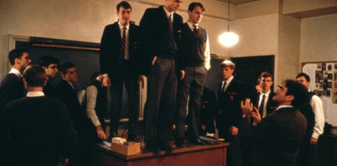 Picture from Dead Poets Society