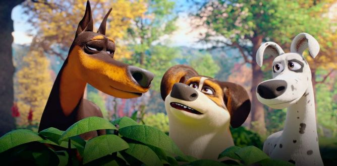 Dog Gone Trouble Movie Review for Parents