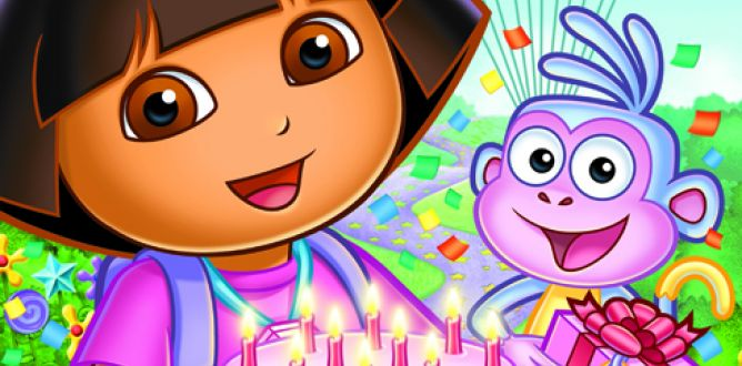 Picture from Dora's Big Birthday Adventure