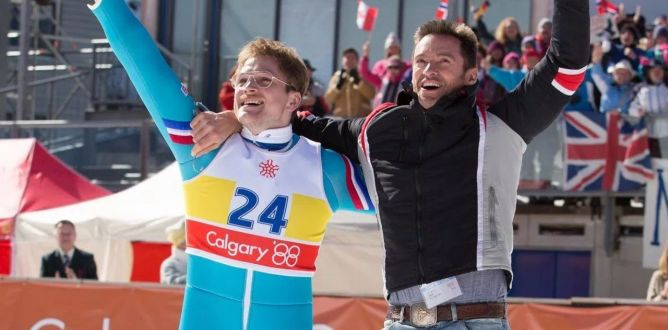Eddie the Eagle parents guide