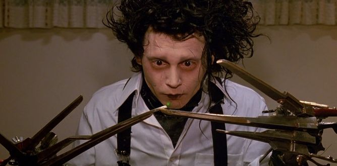 Edward Scissorhands parents guide