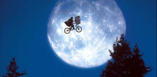 Picture from E.T. The Extra-Terrestrial