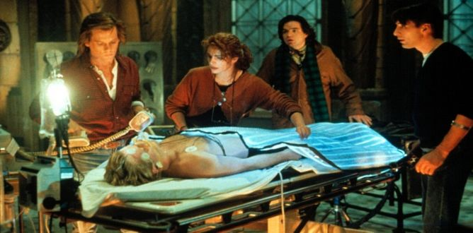 Flatliners (1990) parents guide
