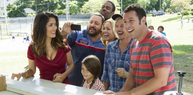 Grown Ups 2 parents guide
