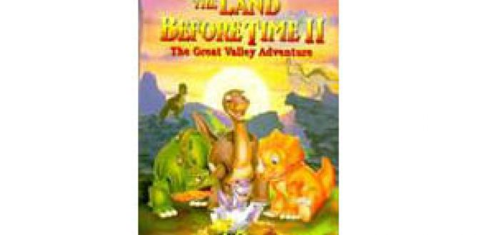 Land Before Time II, The Great Valley Adventure parents guide