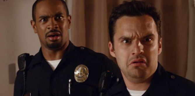 Let's Be Cops parents guide