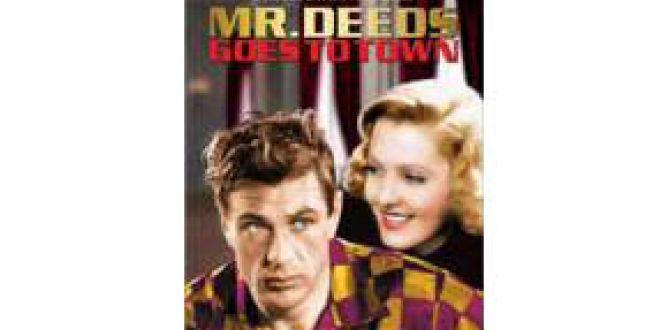Mr. Deeds Goes to Town parents guide