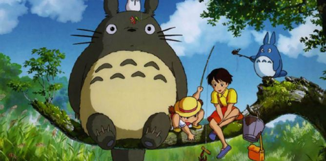 Picture from My Neighbor Totoro