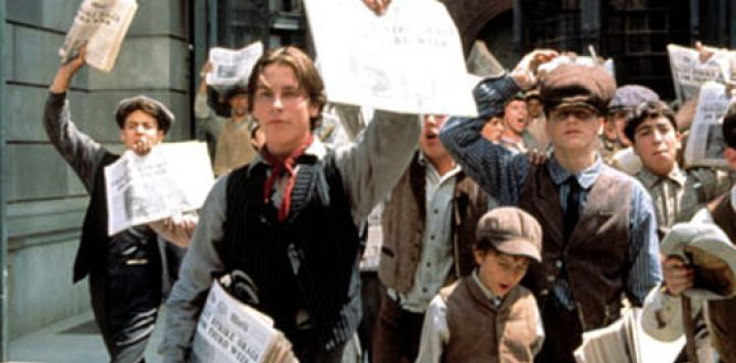 Picture from Newsies