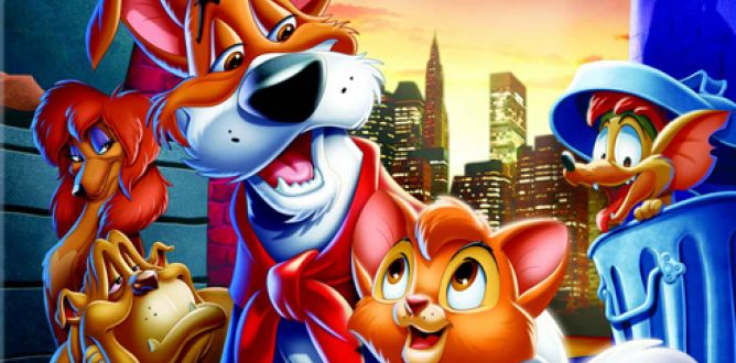 Oliver And Company parents guide