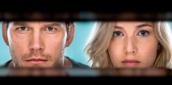 Passengers (2016) parents guide