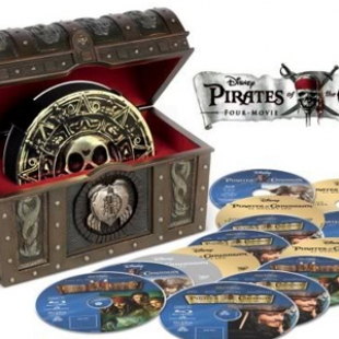 Pirates of the Caribbean Four-Pack Collection