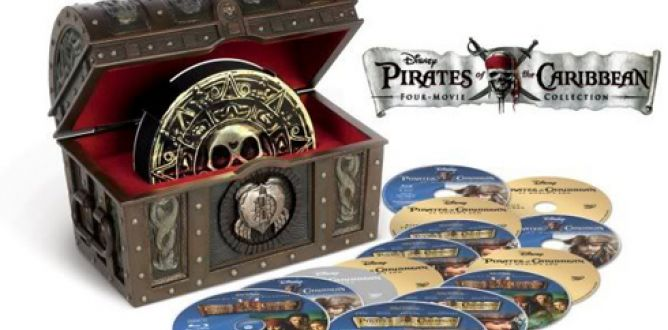 Pirates of the Caribbean Four-Pack Collection parents guide