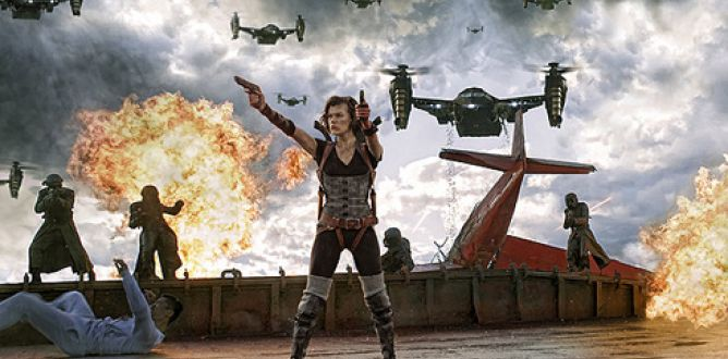 Picture from Resident Evil: Retribution