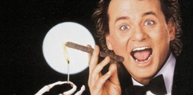Picture from Scrooged