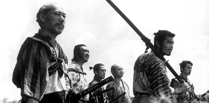 Picture from Seven Samurai