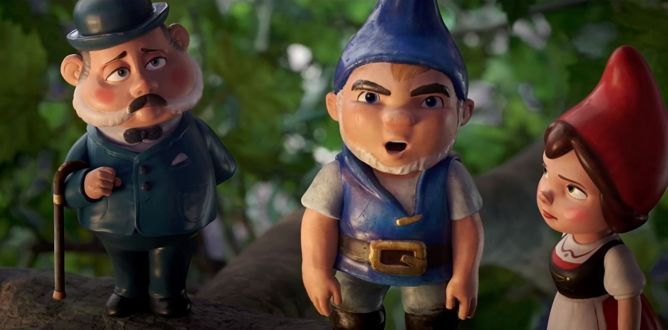 Sherlock Gnomes parents guide