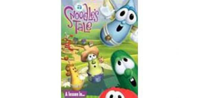 Picture from Veggie Tales: A Snoodle's Tale