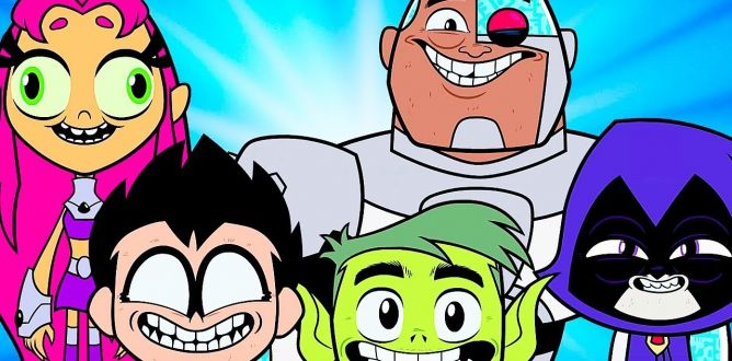 Teen Titans Go! To The Movies parents guide