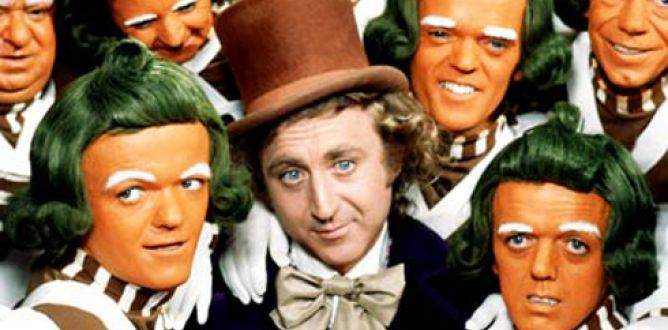 Picture from Willy Wonka And The Chocolate Factory