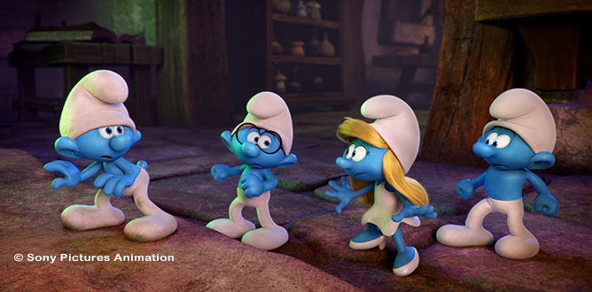 Picture from Smurfs: The Lost Village Composer Talks Music & Movies