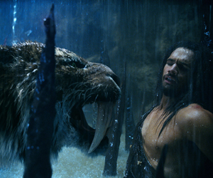 Still shot from the movie: 10,000 BC.