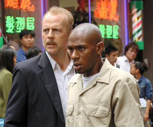 Still shot from the movie: 16 Blocks.