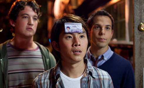 Still shot from the movie: 21 and Over.