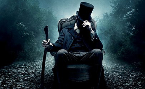Still shot from the movie: Abraham Lincoln: Vampire Hunter.