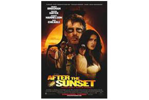 Still shot from the movie: After the Sunset.