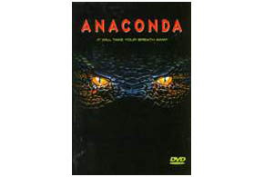Still shot from the movie: Anaconda.